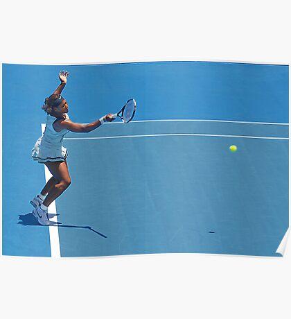 Return (Serena Williams) Poster
