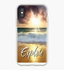 Dream Explore Discover - Give Back to Nature  iPhone Case