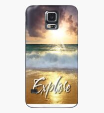 Dream Explore Discover - Give Back to Nature  Case/Skin for Samsung Galaxy