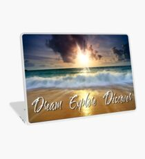 Dream Explore Discover - Give Back to Nature  Laptop Skin