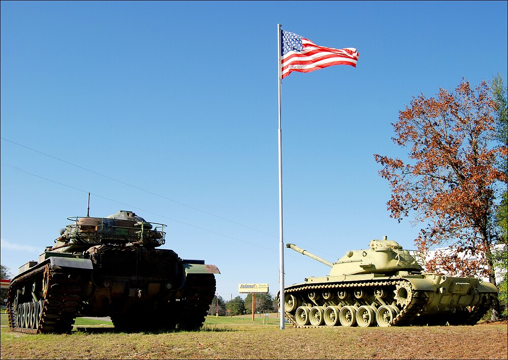 Patton and Pershing by Donnie Shackleford
