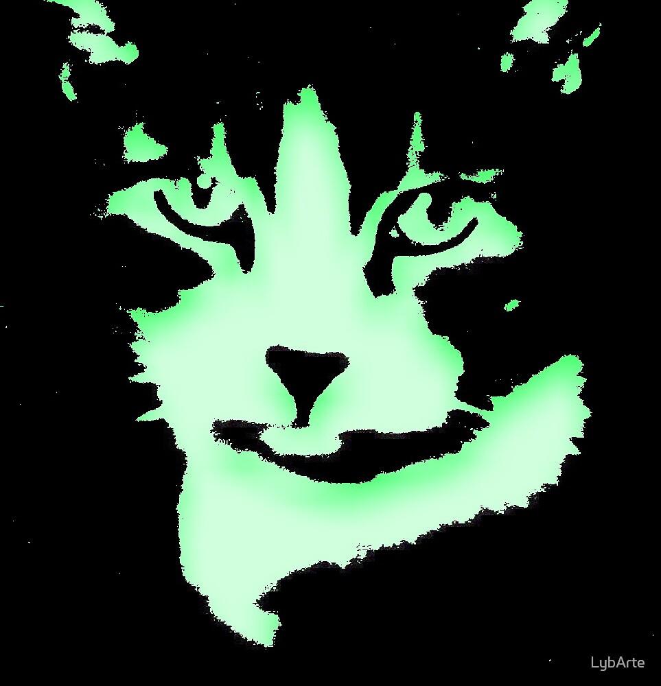 Green Pug by LybArte