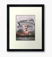Vicente Fernandez - Recultura 009 Framed Print