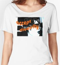 Accept Diversity Women's Relaxed Fit T-Shirt