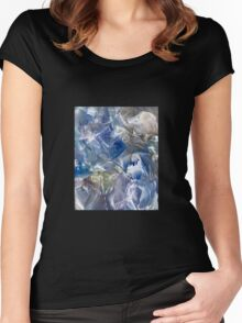 Ancestral corridors to mind expansion Women's Fitted Scoop T-Shirt