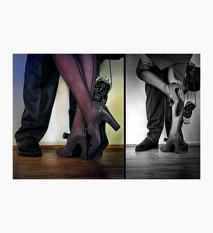 - they met - they danced - they fell in love -  Photographic Print