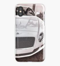 White Bentley iPhone Case