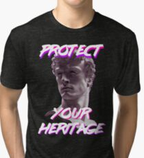 Fashwave - Protect Your Heritage Tri-blend T-Shirt