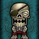 Tiki Pirate - By Landron Artifacts by landronart