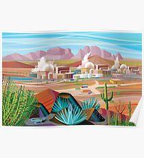 Power Plant in the Desert Poster