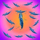 Tanz im Meer / Dance in the Ocean Version 4 von Doris Thomas