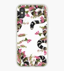 snake floral  iPhone Case