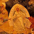 Chora Raising Of Adam And Eve by Nigel Fletcher-Jones