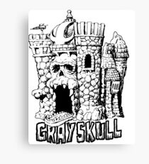 Grayskull Canvas Print