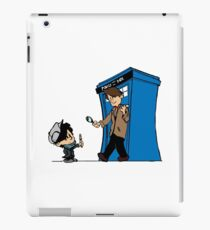 Sherlock and Who iPad Case/Skin
