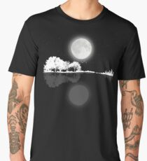 Nature Guitar Night Men's Premium T-Shirt