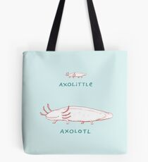 Axolittle Axolotl Tote Bag