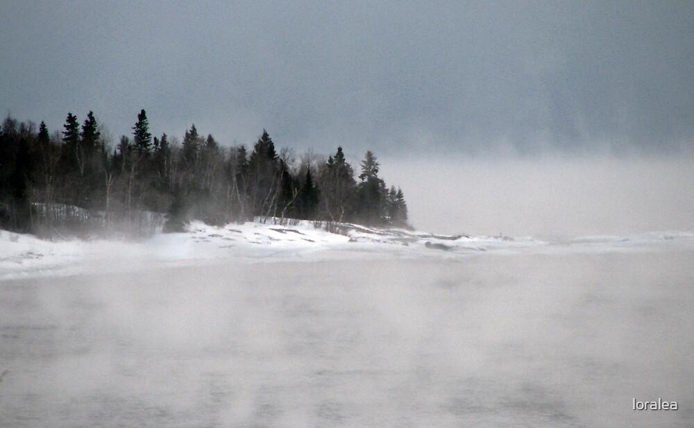 Lake Superior shoreline - Marathon, Ontario by loralea