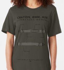 Marine Corps Crayon Operator's Manual Slim Fit T-Shirt