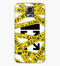 OFF-WHITE STRAPPED Case/Skin for Samsung Galaxy
