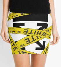 OFF-WHITE STRAPPED Mini Skirt