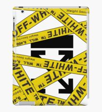 OFF-WHITE STRAPPED iPad Case/Skin