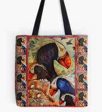 Puffin Power! Tote Bag