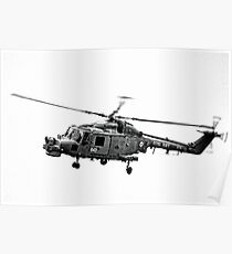 Royal Navy Helicopter........... Poster