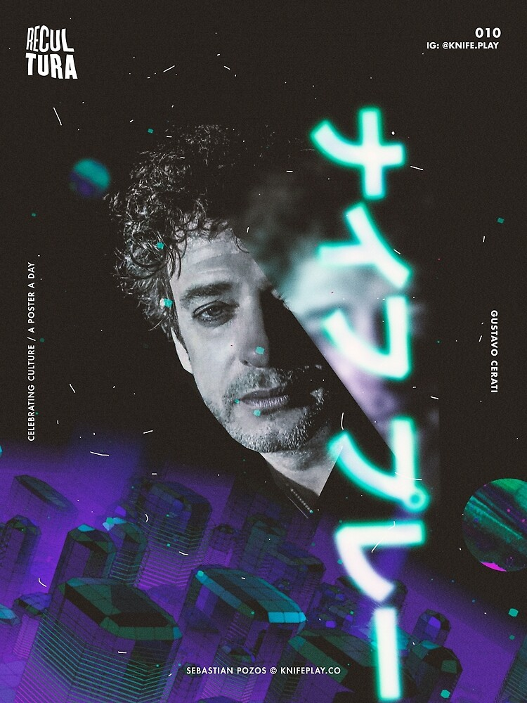 Gustavo Cerati - Recultura 010 by knifeplay