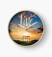 Live Laugh Love - Give Back to Nature Clock