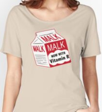 Simpsons Malk Women's Relaxed Fit T-Shirt
