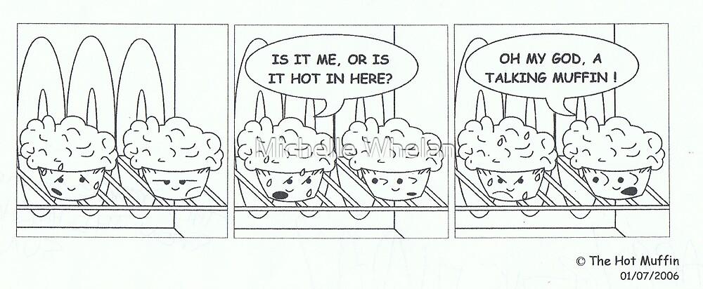 talking muffin by Michelle Whelan