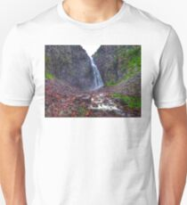 Swedens largest waterfall Unisex T-Shirt