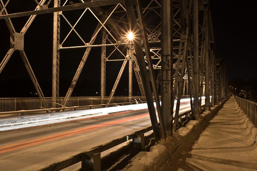 Redwood Bridge Traffic by Geoffrey
