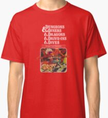 Dungeons & Diners & Dragons & Drive-Ins & Dives: Escape from Flavortown Classic T-Shirt