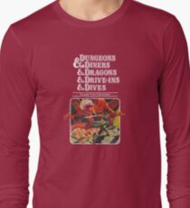 Dungeons & Diners & Dragons & Drive-Ins & Dives: Escape from Flavortown Long Sleeve T-Shirt