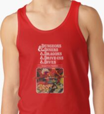 Dungeons & Diners & Dragons & Drive-Ins & Dives: Escape from Flavortown Tank Top