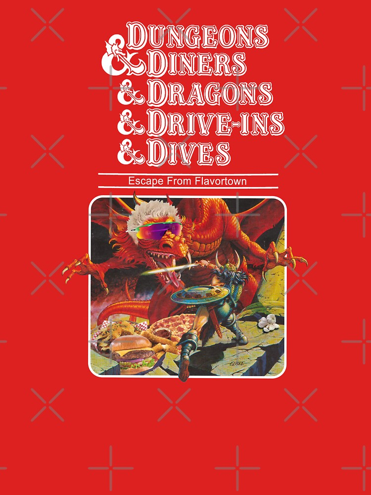 Dungeons & Diners & Dragons & Drive-Ins & Dives: Escape from Flavortown by ErikVogt