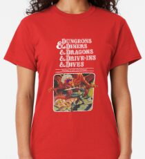 Dungeons & Diners & Dragons & Drive-Ins & Dives: Flucht aus Flavortown Classic T-Shirt