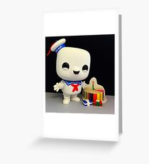 Stay Puft Birthday Greeting Card