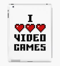 I Love Video Games - Light iPad Case/Skin