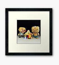 Zombie Birthday Framed Print