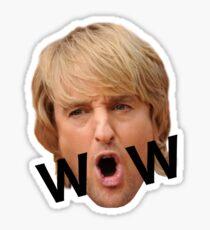 Owen Wilson WOW Sticker