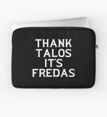 THANK TALOS IT'S FREDAS Laptop Sleeve