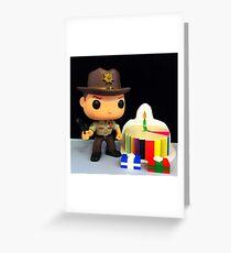 Rick Grimes Birthday Greeting Card