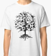 Guitars Tree Roots Classic T-Shirt