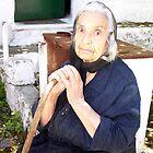 The Lady of Afra Corfu by fruitcake