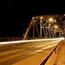 Redwood Bridge Looking East by Geoffrey