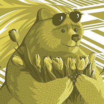 Bear Blonde by beesants