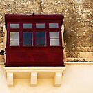 Mdina, Malta Window 1 by Alison Cornford-Matheson